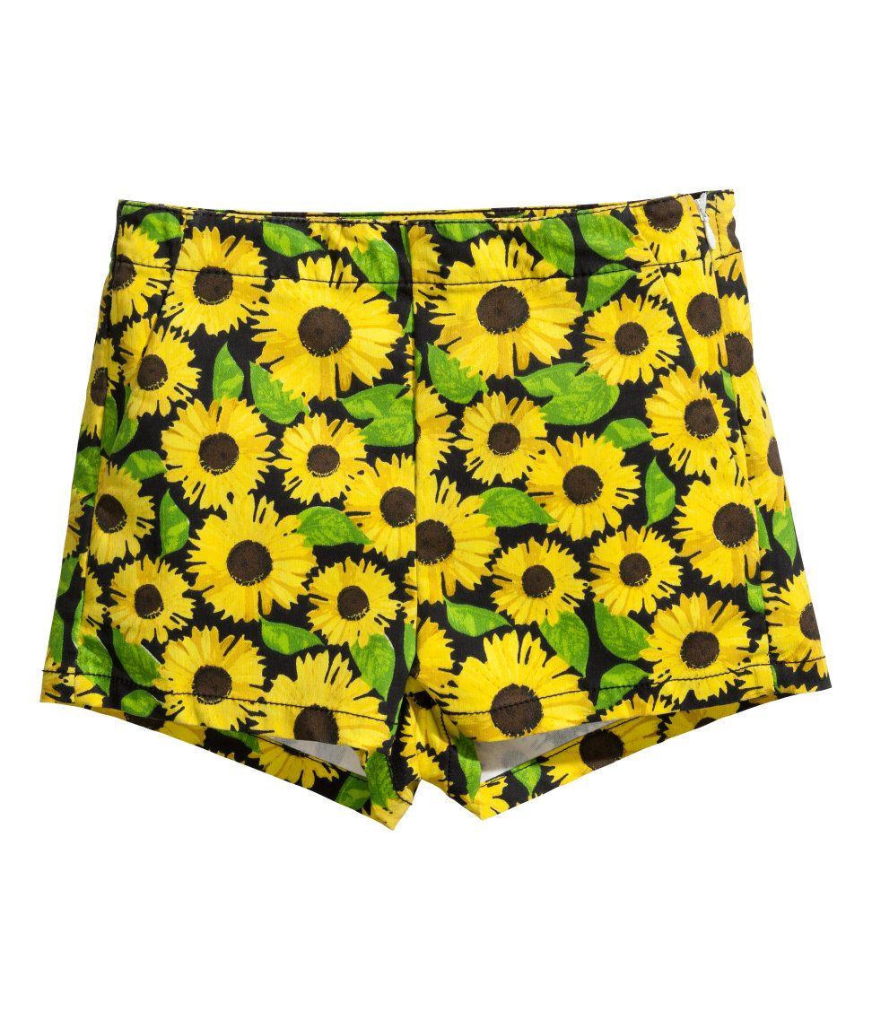 Sunflower Twill shorts | H&M GB