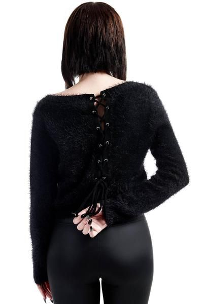 0328eca4444 Obscura Fuzzy Knit Sweater [B] | KILLSTAR | Witchy stuff | Sweaters ...