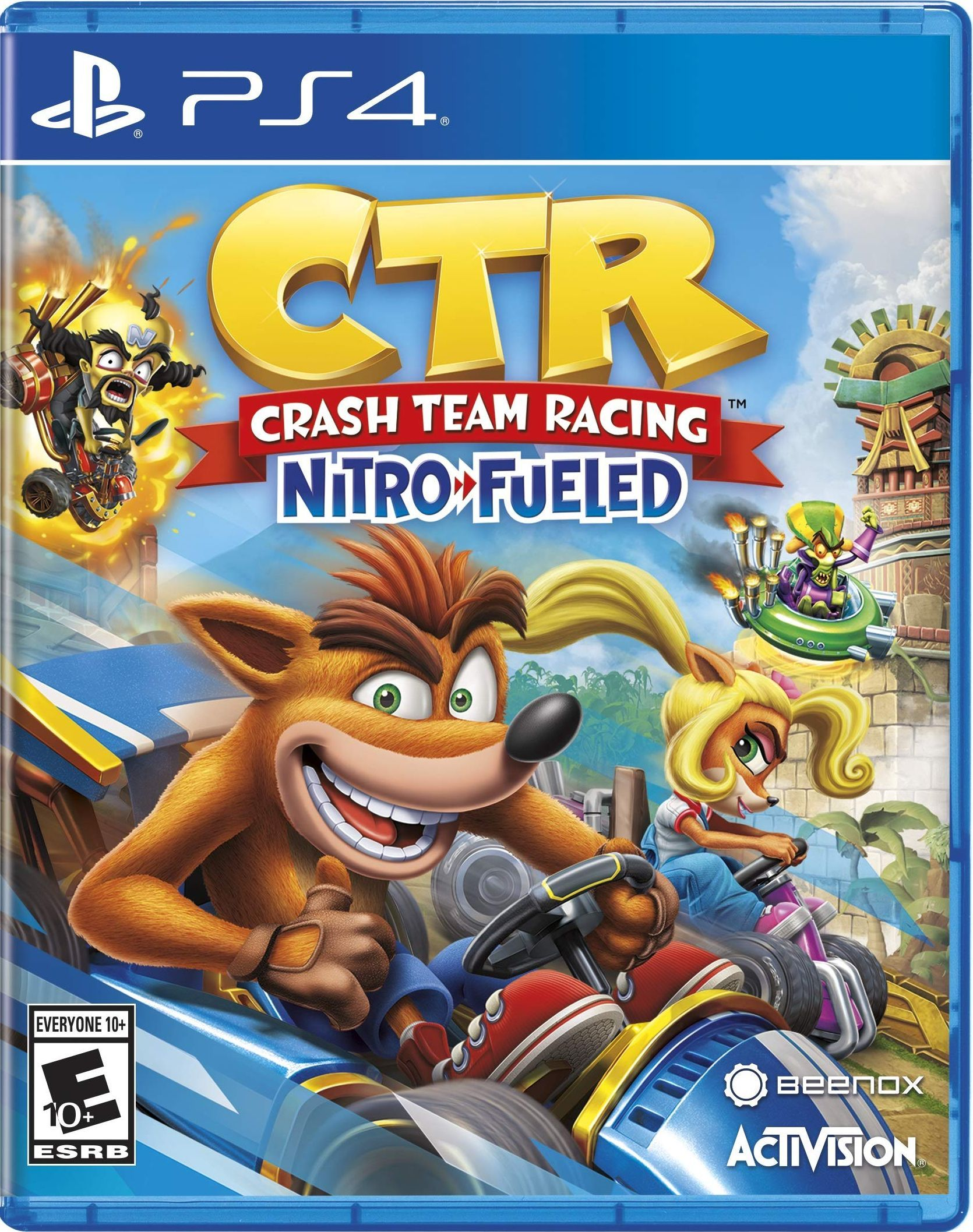Crash Team Racing Juegos de xbox one, Playstation
