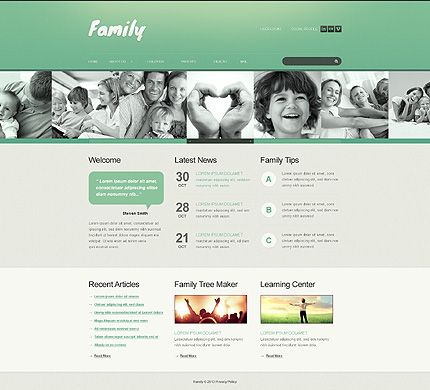 Family life website templates by astra family baby store family life website templates by astra pronofoot35fo Gallery