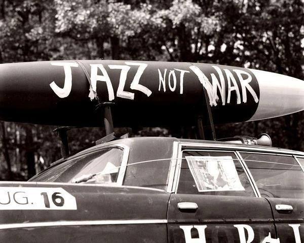 Jazz, not war
