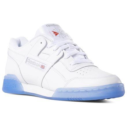 Workout Plus Men's Shoes | White reebok, Reebok workout plus