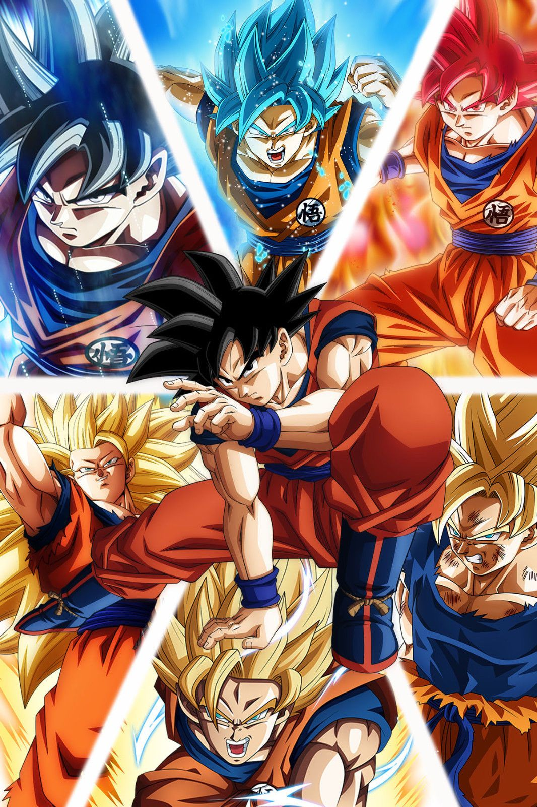 dragon ball z super poster goku from