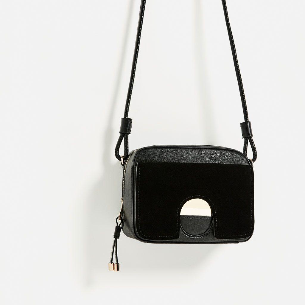 Image 1 of METAL DETAIL CROSSBODY BAG from Zara