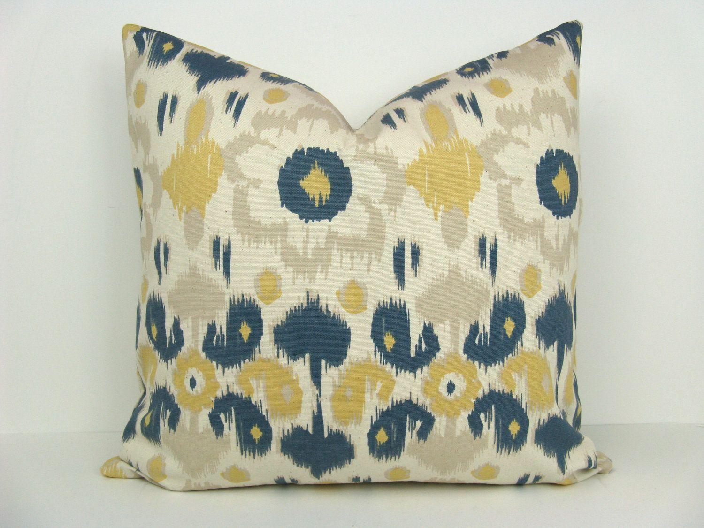 Etsy Throw Pillows Throw Pillow Sets Ikat Pillow Covers Decorative Throw Pillow