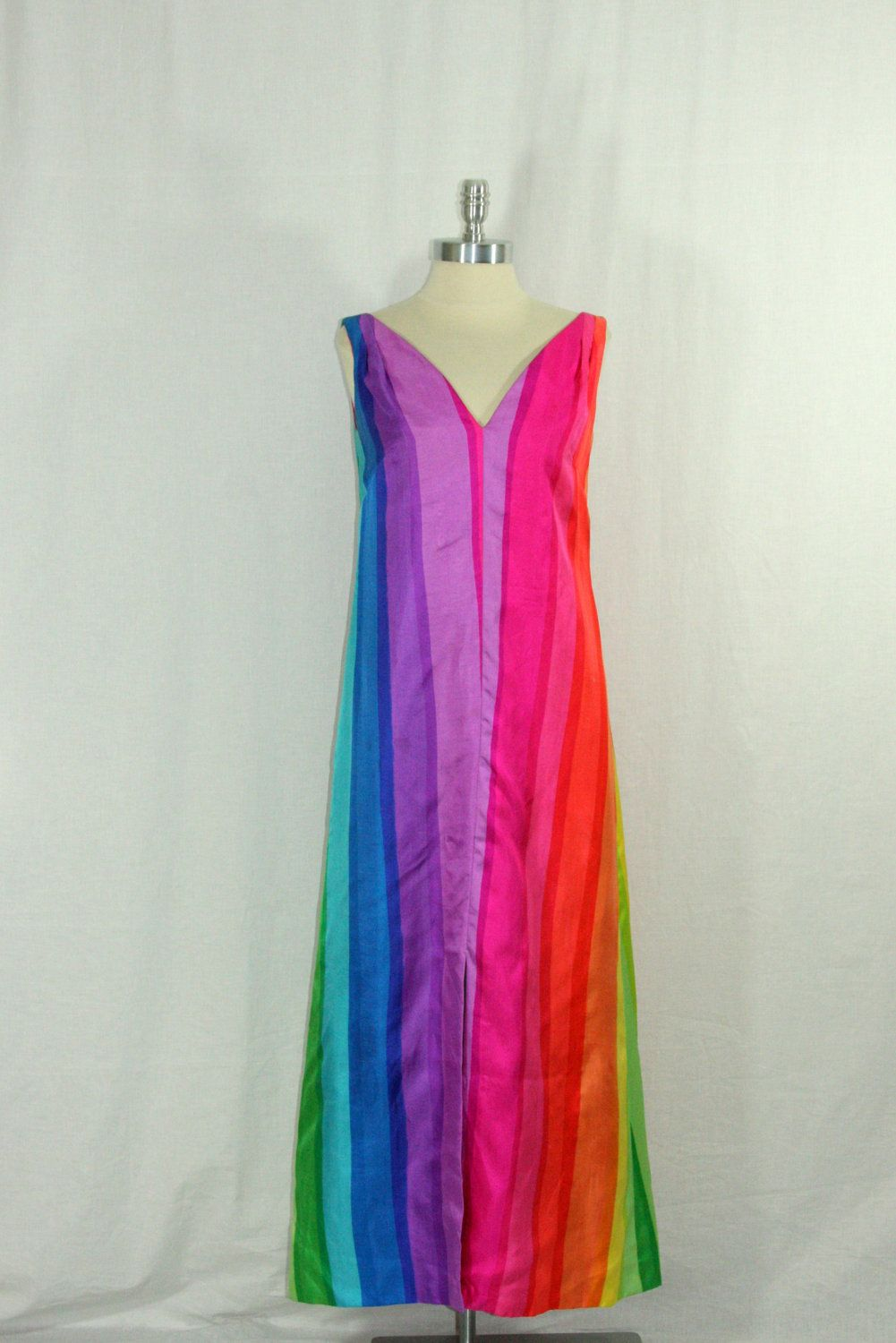 Vintage s long dress couture designer posh by jay anderson