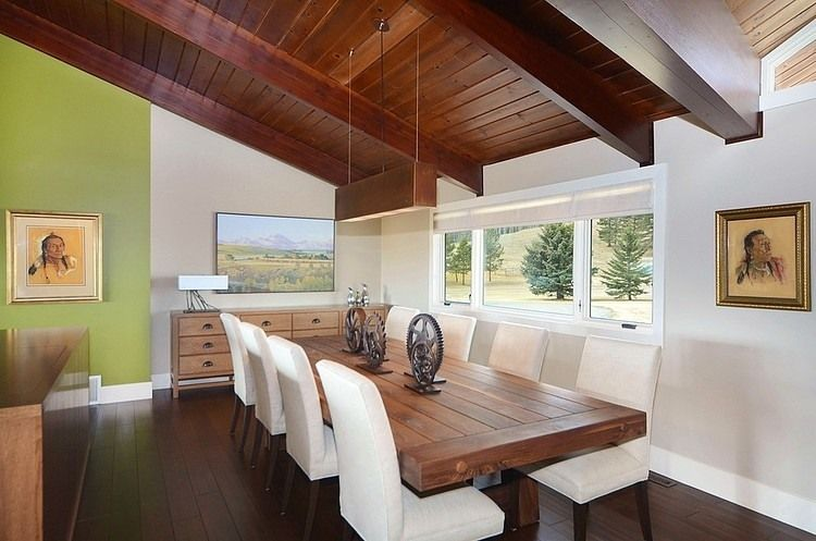 Contemporary ranch by bruce johnson associates