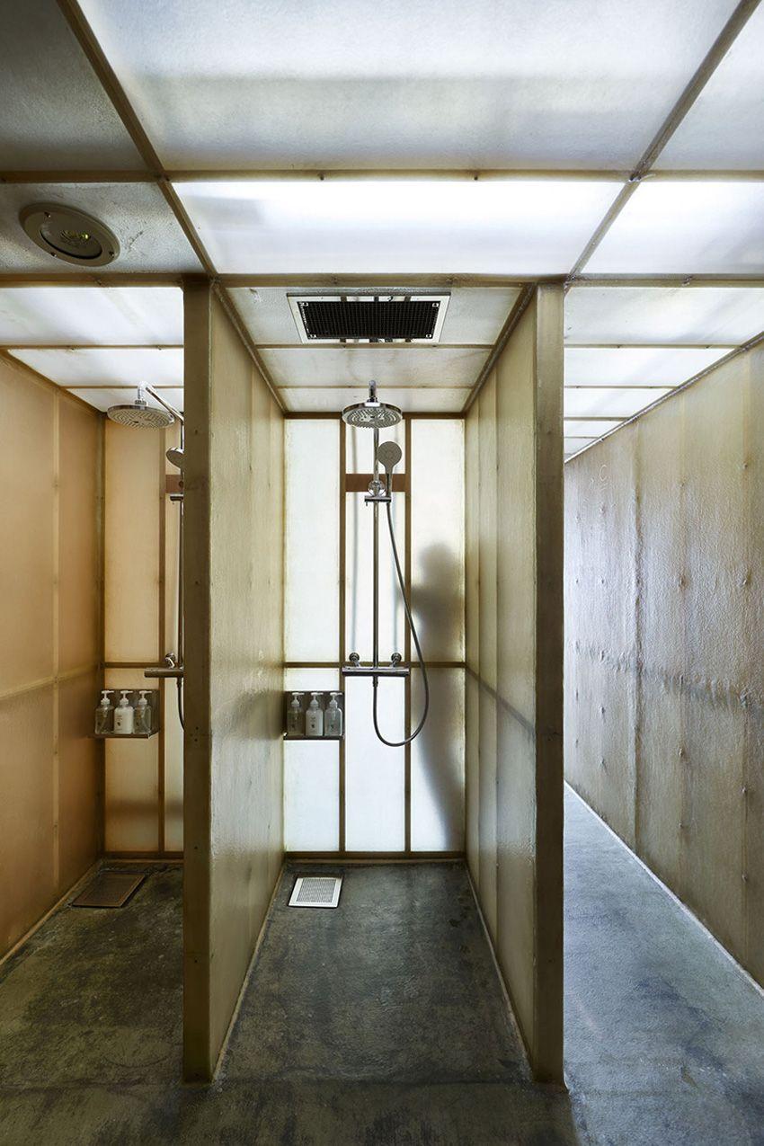 Ebisu Tokyo Capsule Hotel Renovation Schemata