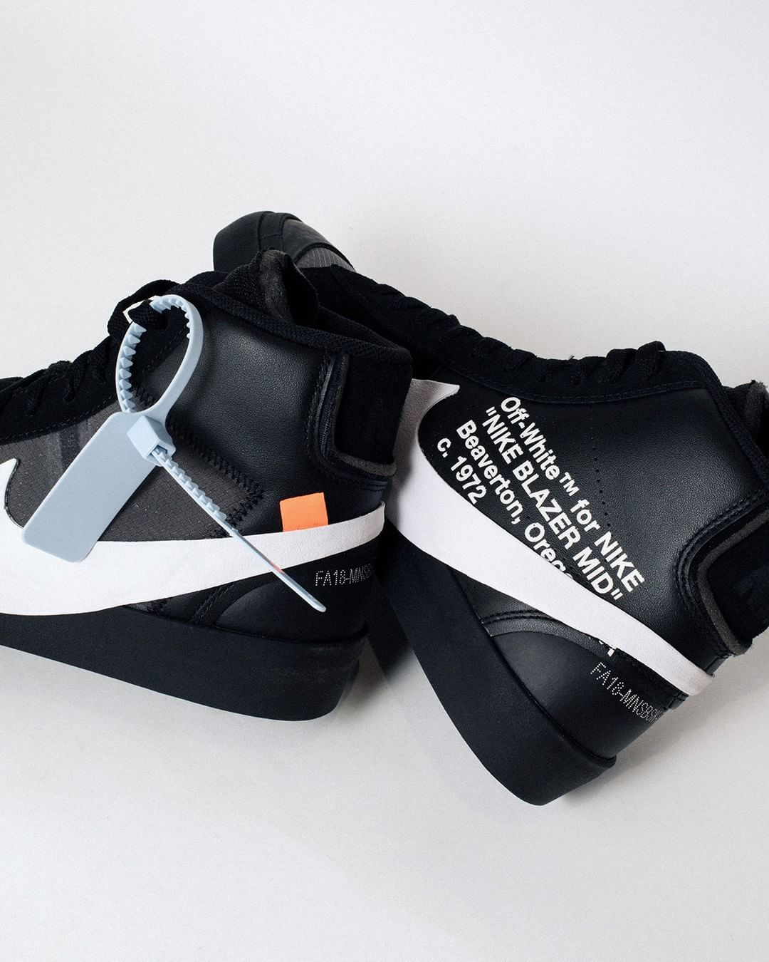 "Off-White x Nike Blazer Mid ""Spooky Pack"" releases tomorrow ..."