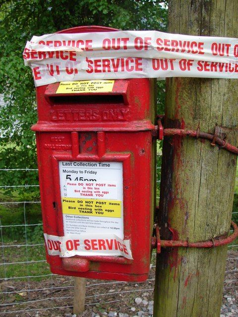 Royal Mail Nest Box Nice To See Royal Mail Look After Temporary