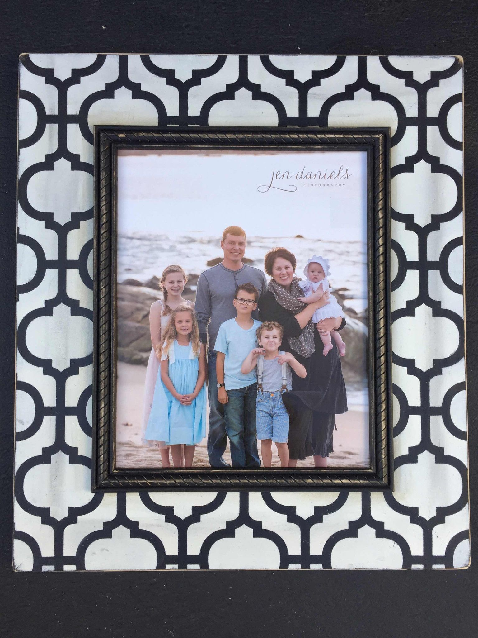 16x20 black white moroccan frame moroccan and products 16x20 black white moroccan frame jeuxipadfo Gallery