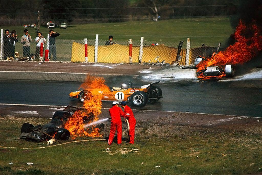 Bruce McLaren (Spain 1970) by F1-history.deviantart.com on @DeviantArt
