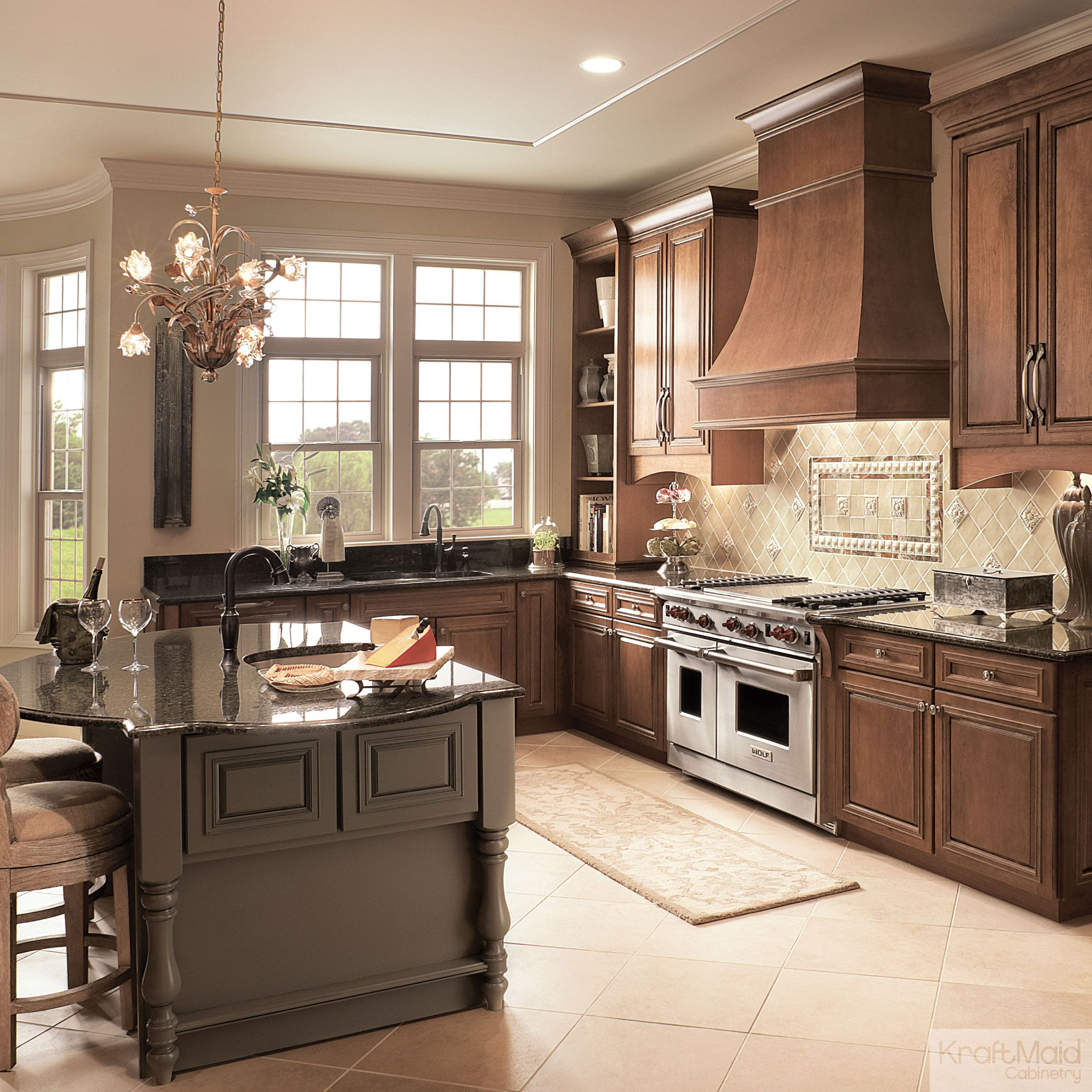 Kitchen Cabinets Stained Light: Kitchen Colors: Dark Is The New Neutral