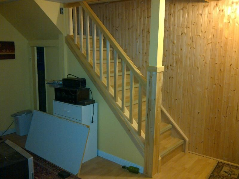 Basement Stairwell Ideas | Handrail Ideas For Basement Stairs Basement  Stair Handrail Ideas