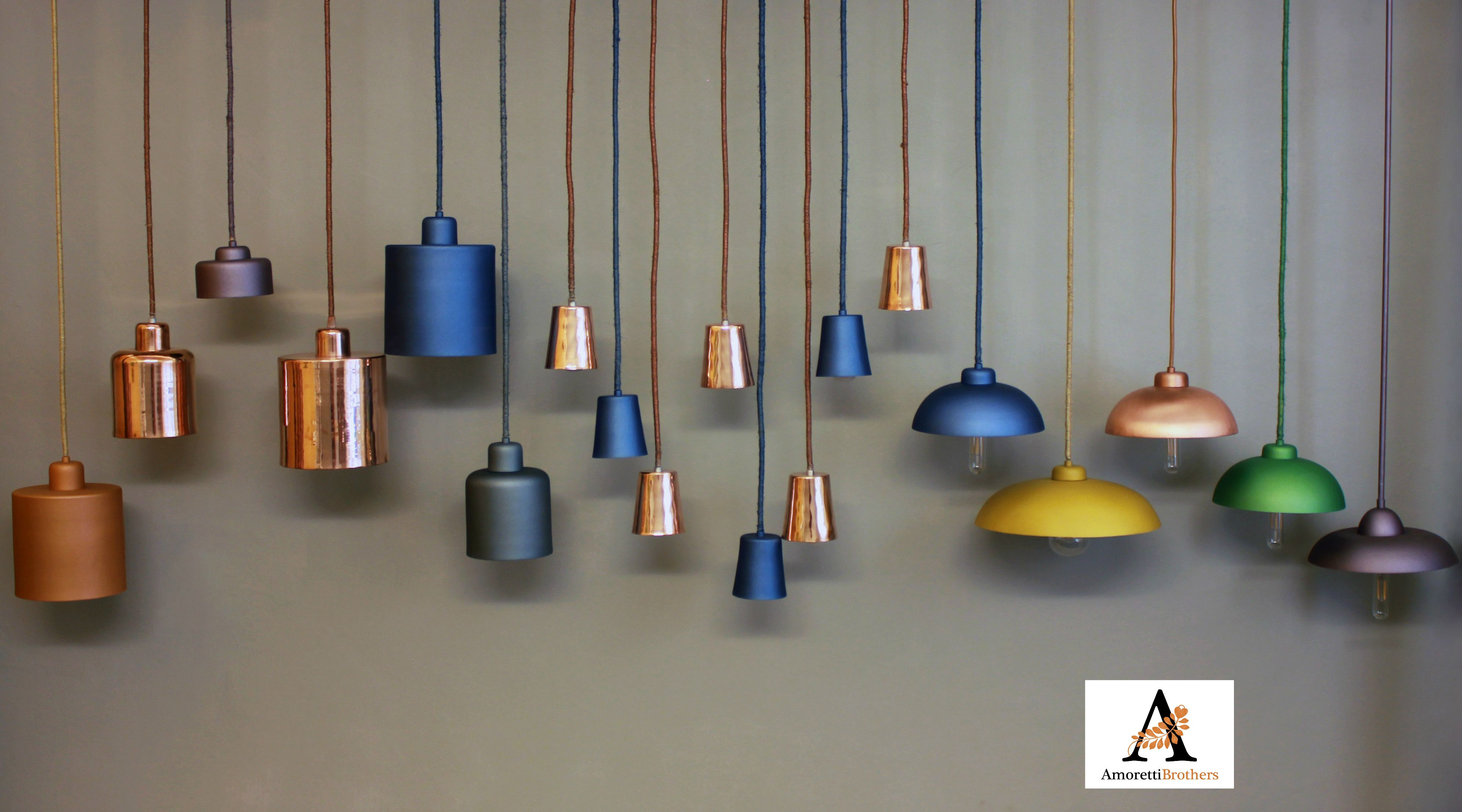 A Selection Of Amoretti Brothers Decorative Lightings