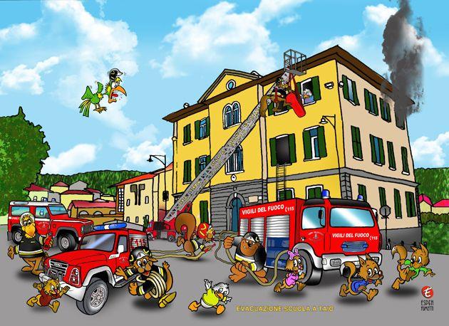 Calendario bambini ~ Foto pompieri vigili del fuoco fireman calendario veicoli e