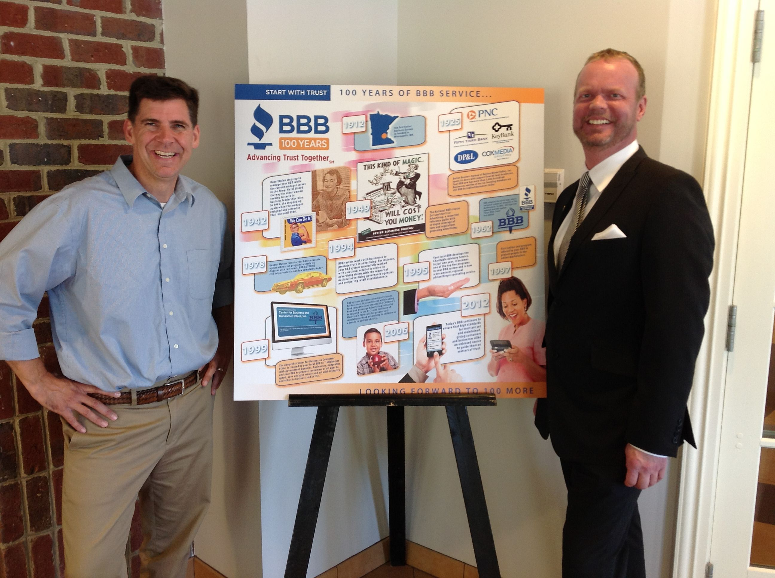 The Museum Exhibit Created By The Better Business Bureau