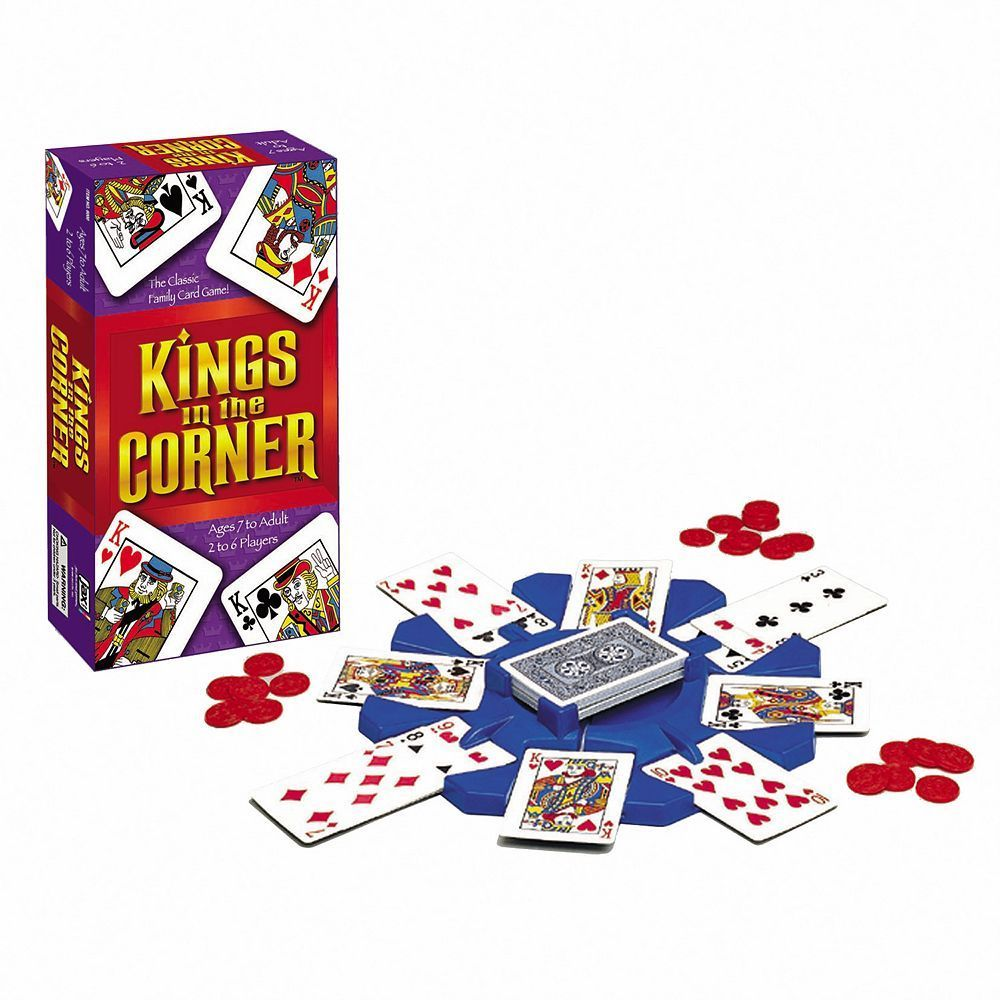 how to play kings in the corner card game