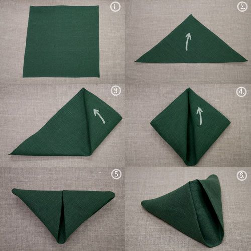 Napkin Folding Future Mrs Fix