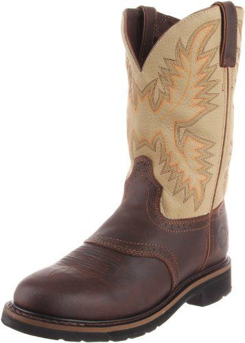 Justin Original Work Boots Men S Stampede Work Boot Justin