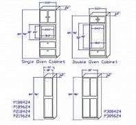 Double Oven Cabinet Plans Bing Images Ideas