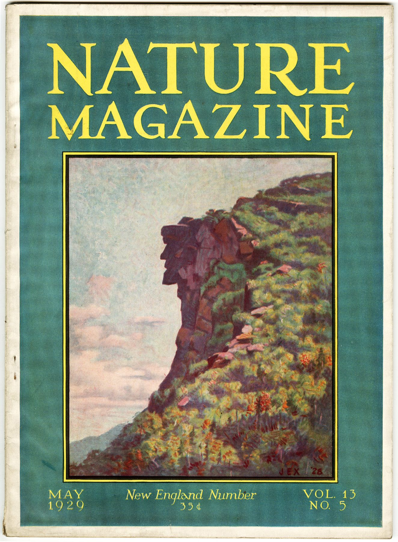 Nature Magazine 1929 Photo Posters Nature Photo