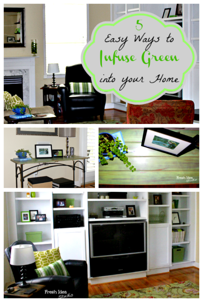 5 Easy Ways To Infuse Green Into Your Home Decor Great Pictures