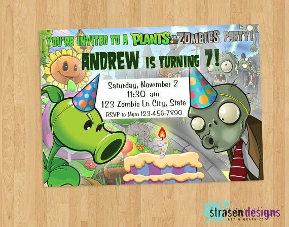 Invitaciones 2 Invitaciones De Cumpleaños Imprimibles