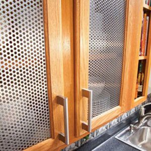 Metal Kitchen Cabinet Door Inserts