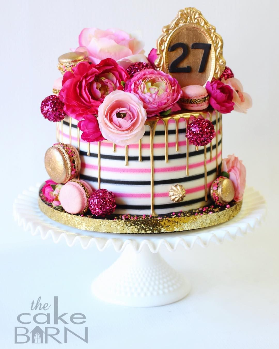 My 27th Birthday Cake! - Jane's Patisserie