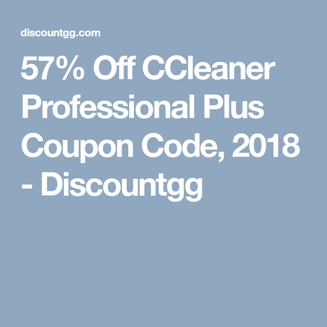 ccleaner code promo