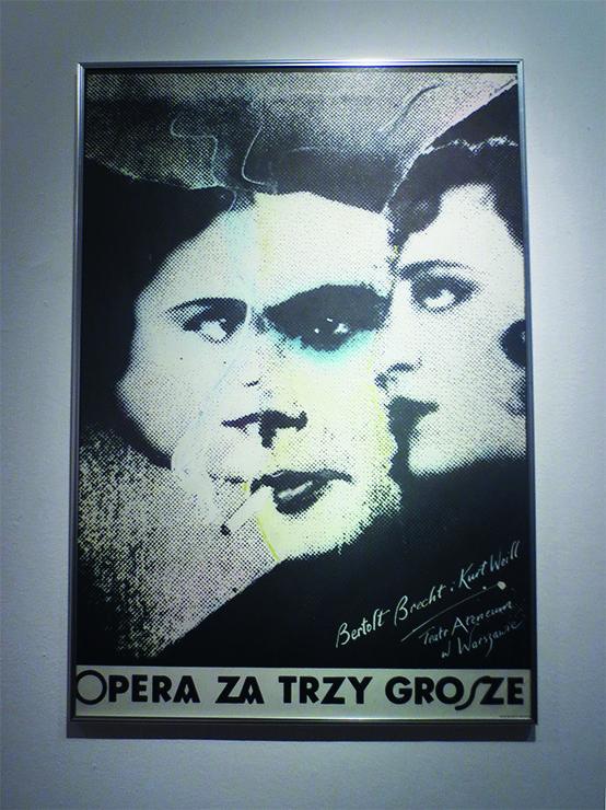 Andrzej Klimowski La Opera De Los Tres Centavos Bertolt Brecht Y Kurt Weil Teatro Ateneum De Varsovia 1980 Dreigroschenoper Oper