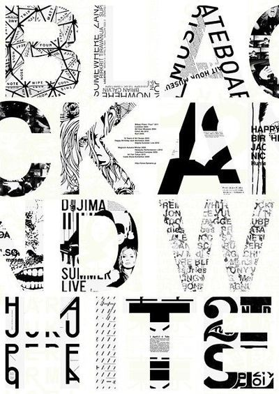Tokyo graphic poster exhibition masayoshi kodaira black and white