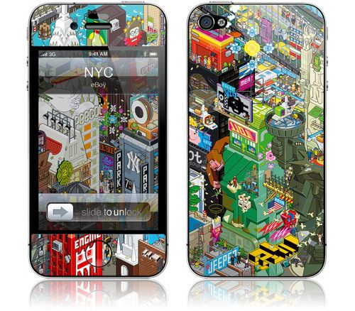 Iphone Cover Stickers, Art Iphone