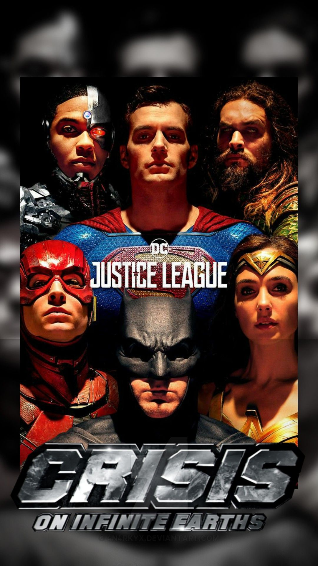 Crisis On Infinite Earths In 2021 Justice League 2017 Justice League Movie Posters
