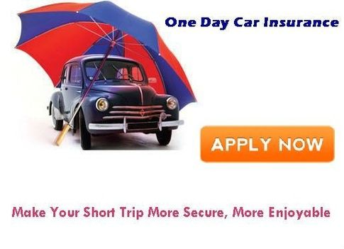 Get One Day Car Insurance Quote Online Faster And Save Your Money