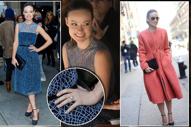 Fashion Week New York   2013 - I like the cut of the coat.