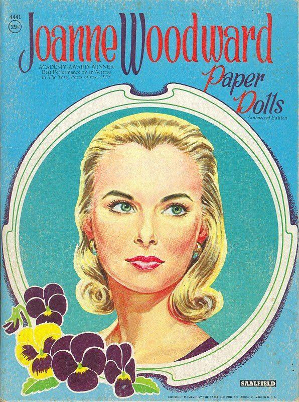 Joanne Woodward | Paper dolls