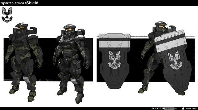Master Chief Helmet Concept Art