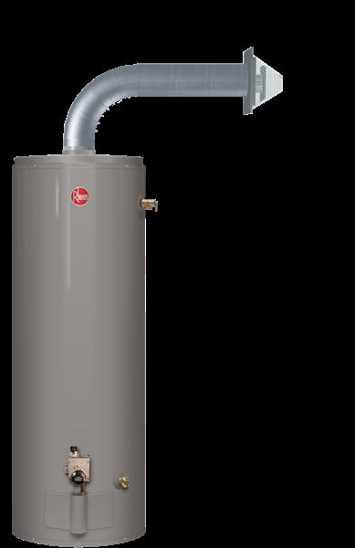 Rheem Residential Gas Water Heaters Fury Direct Vent Horizontal