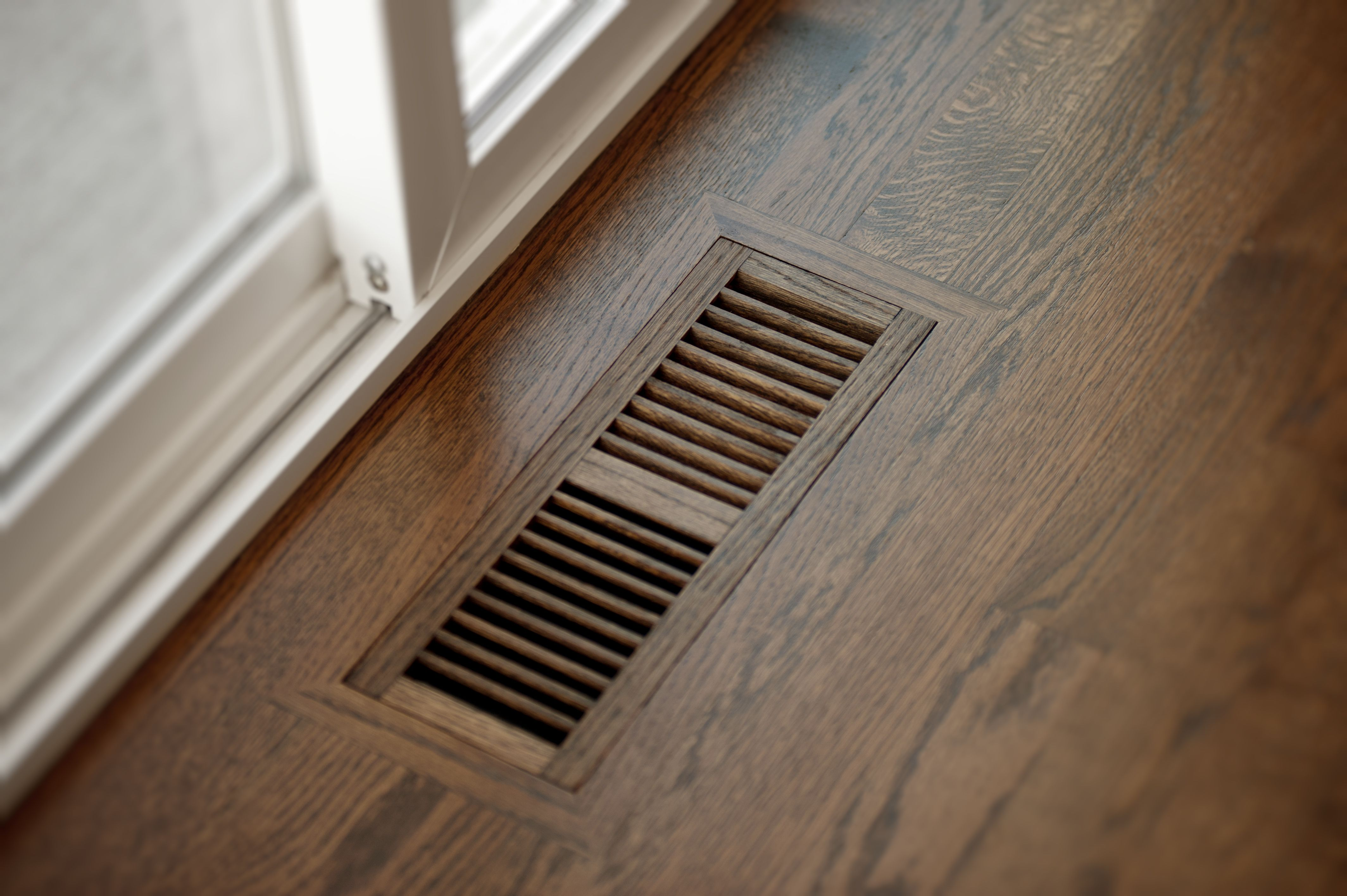 Another way we do things right recessed hardwood floor registers