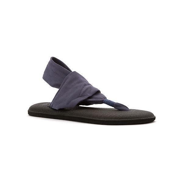 Sanuk Yoga Sling 2 Sandals ($38) ❤ liked on Polyvore featuring shoes,  sandals · SlateShoes ...