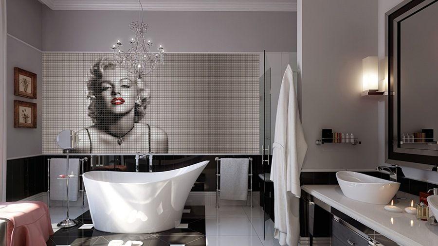 Revestimientos digitales para ba os tono bagno mosaicos para suelos y paredes mosaicos - Revestimiento para bano ...