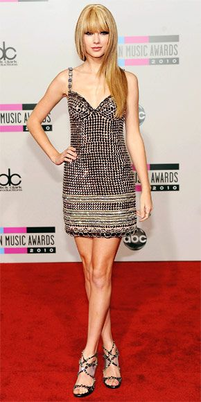 Taylor Swift's 22 Best Dresses - Collette Dinnigan  from InStyle.com
