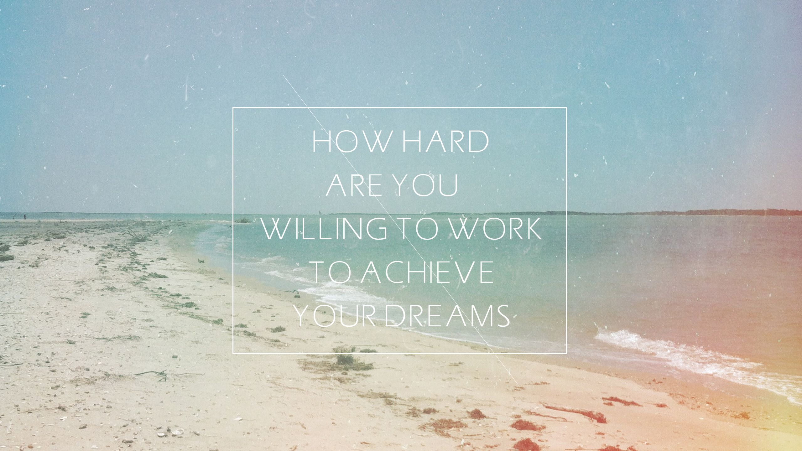 some beachy inspirational wallpaper that is now gracing