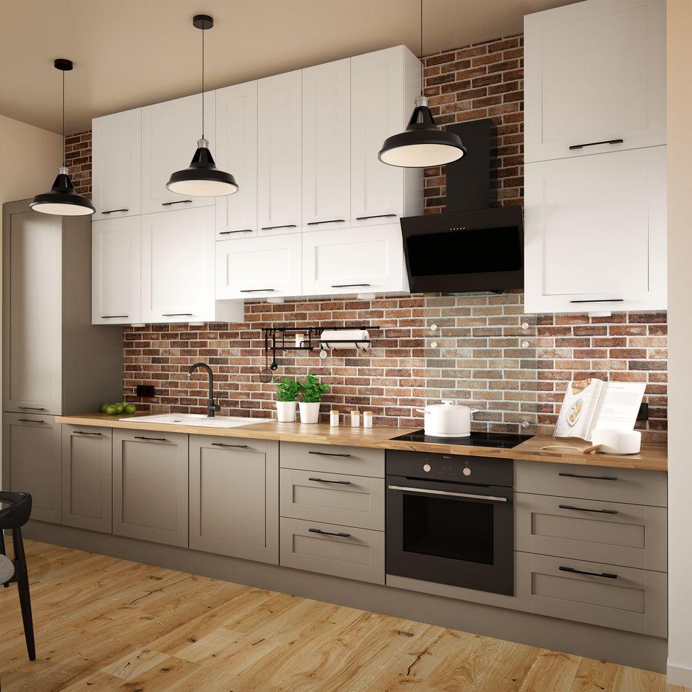 Fronty Kuchenne Delinia Orlean Matowy Taupe W Sklepach Leroy Merlin Kitchen Cabinets Kitchen Home Decor