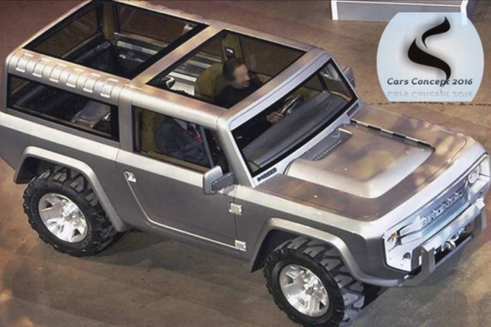 Concept Bronco Ford Bronco Ford Bronco Concept Bronco Concept