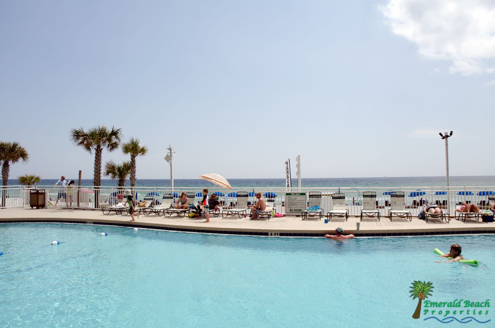 Watercrest Oceanfront Pool So Cool Ocean Front Property Beachfront Vacation Rentals Panama City Beach