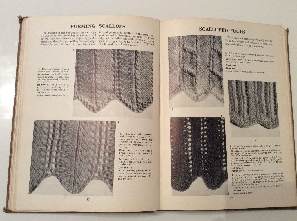 The Pictorial Guide To Home Knitting 1940s book | eBay