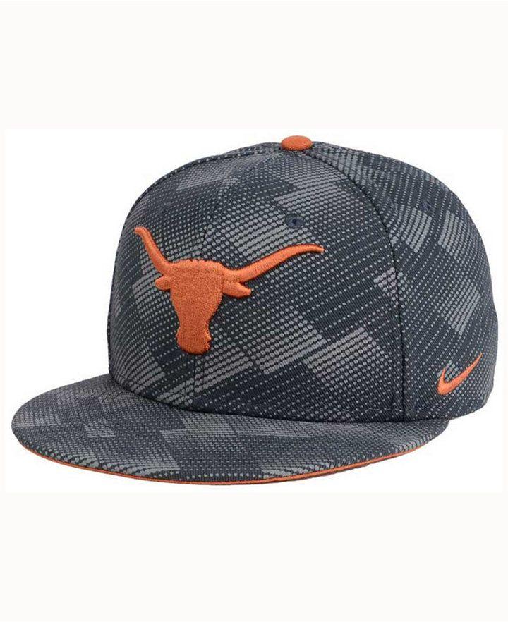 bcd145d4a55 Nike Texas Longhorns Anthracite Snapback Cap